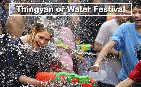 Thingyan or Water Festival