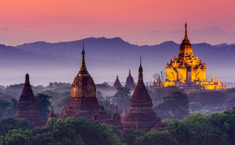 Destination in Myanmar