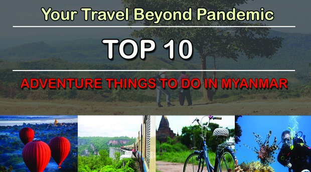 adventure activities in Myanmar