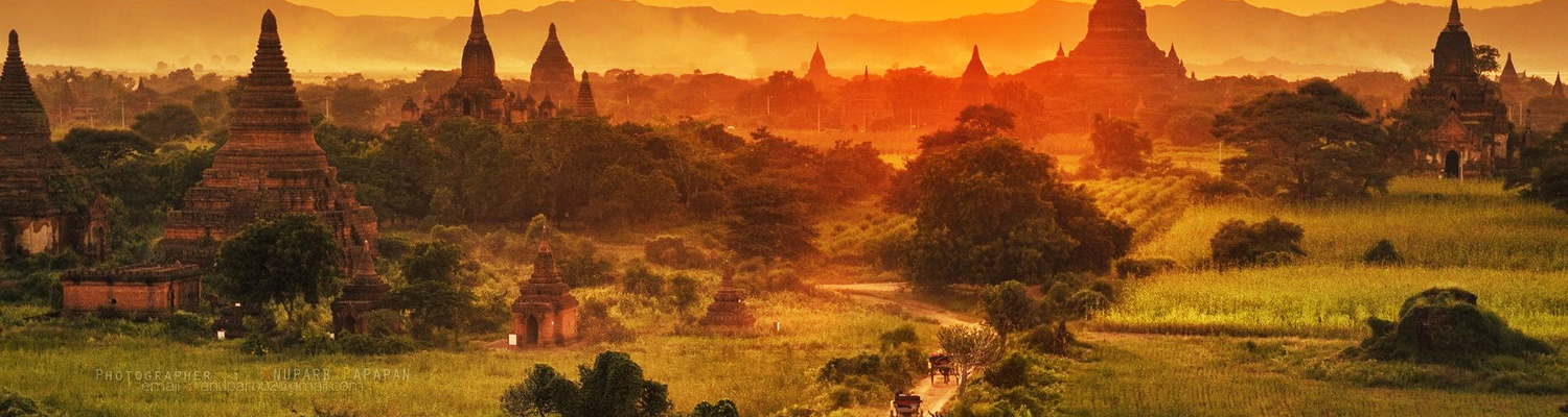 Bagan with horse cort