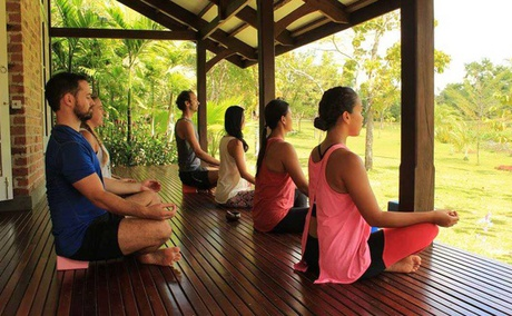 Yoga Retreat Near Yangon